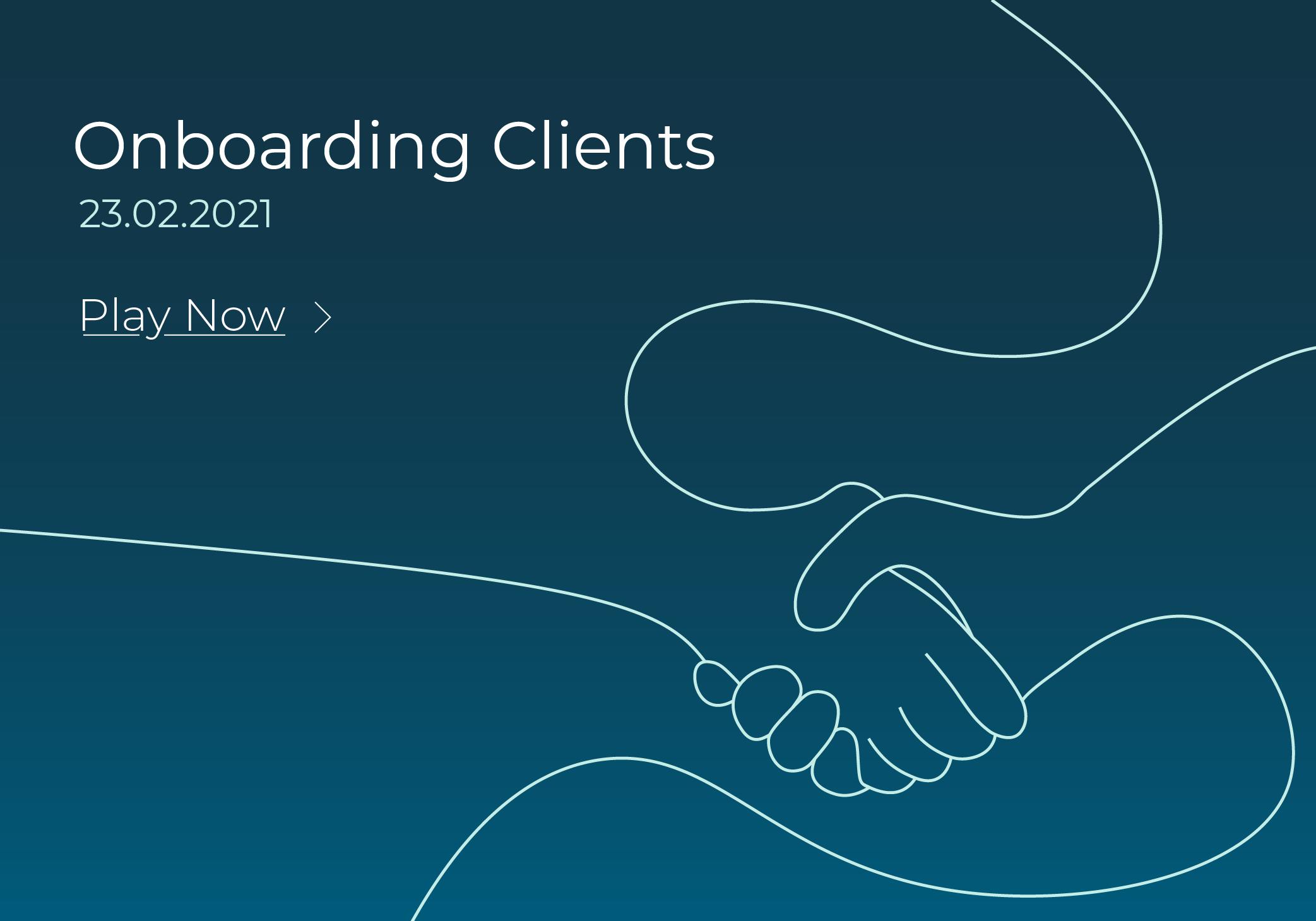 Onboarding Clients webinar