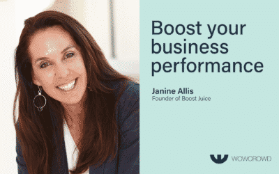 Janine Allis on the WoWcrowd